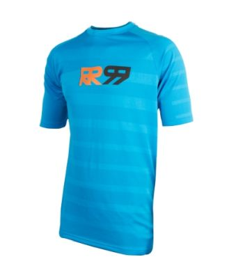 Royal Racing Impact Short Sleeve Jersey Electric Blue