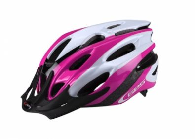Κράνος GES Rocket Pink/White/Black L (58-62cm)