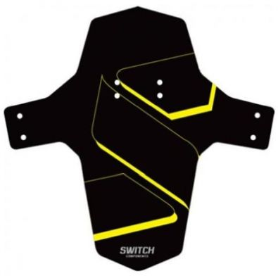 Φτερό GIST SWITCH PARAFANGO MUDGUARD - Black/Yellow