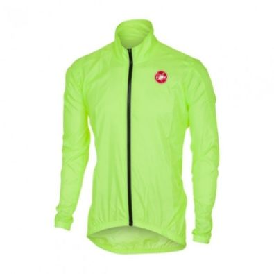 Αντιανεμικό Castelli Squadra Long ER Jacket (Yellow)