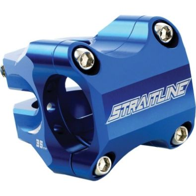 Λαιμός Straitline Pinch Clamp Stems 35mm 31.8 - Blue