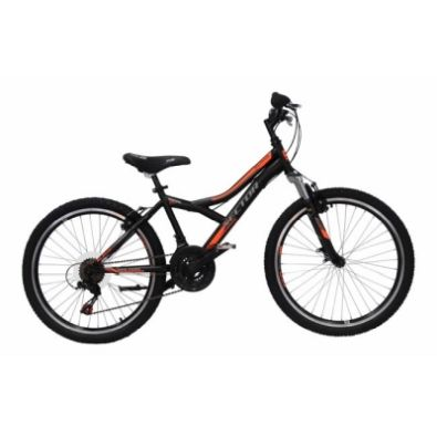Ποδήλατο Sector Alpha 24'' Black/Orange