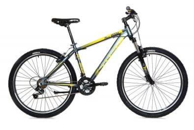 Ποδήλατο CARRERA MTB 27,5'' M7 2000 V - 38cm (Grey/Yellow)