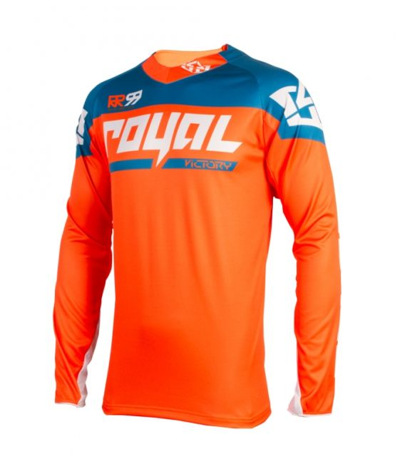 Royal Racing Victory Race Jersey  Diesel-Orange