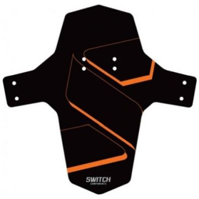 Φτερό GIST SWITCH PARAFANGO MUDGUARD - Black/Orange