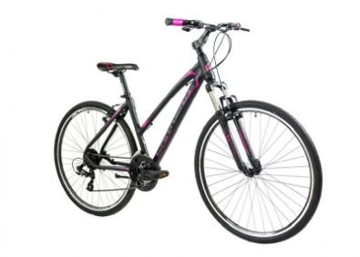 Ποδήλατο Carrera T 2000 VB TRK 700'' Black/Pink 2020 46cm
