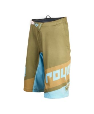 Royal Racing Victory Race Shorts  Olive Light Blue