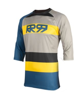 Royal Racing Drift 3/4 Sleeve Jersey  Diesel-Yellow