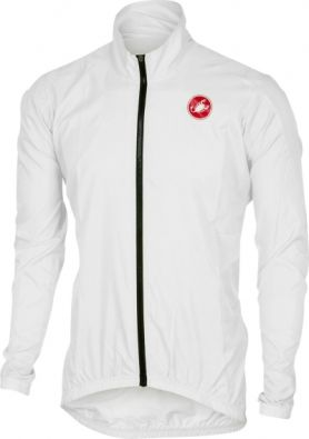 Αντιανεμικό Castelli Squadra Long ER Jacket - White