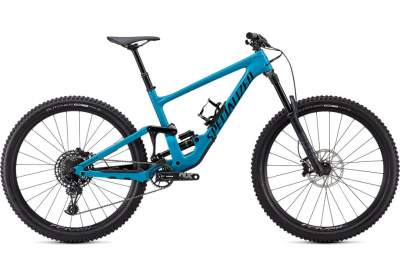 Ποδήλατο Specialized Enduro Comp Gloss Aqua / Flo Red / Satin Black 2021