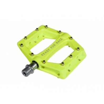 Πετάλια RFR Flat RACE Neon Yellow 9/16''