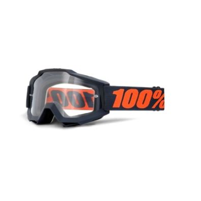 Μάσκα 100% Accuri Enduro Gunmetal Smoke & Clear Lens