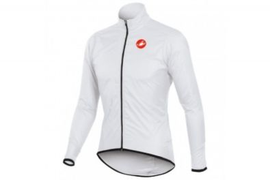 Αντιανεμικό Castelli Squadra Long Jacket (White)