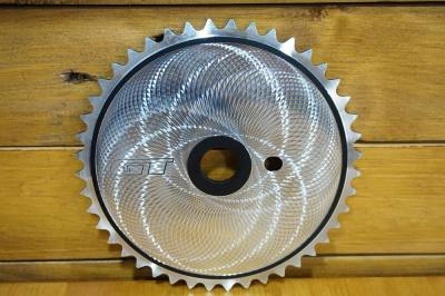 NOS GT Δίσκος BMX Fly Cutter Chainring Sprocket CNC 44T