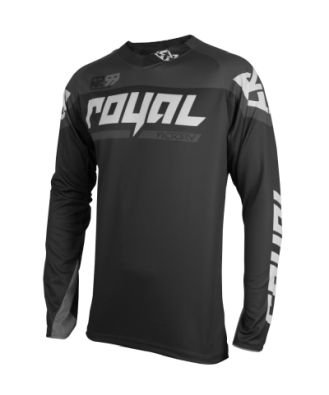 Royal Racing Victory Race Jersey  Black-Grey