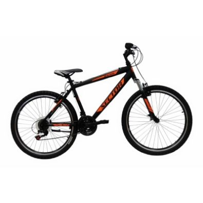 Ποδήλατο SECTOR ZERO 24'' 18spd Black 35cm