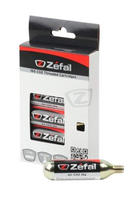 Αμπούλες Zefal Co2 Cartridge (6τμχ) - Gold, 4160D 16g